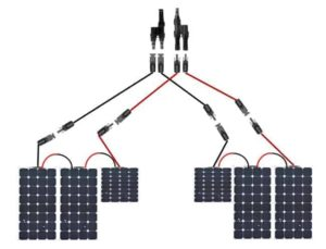 Series/Parallel Solar Panel Connection for Alpha and Bluetti